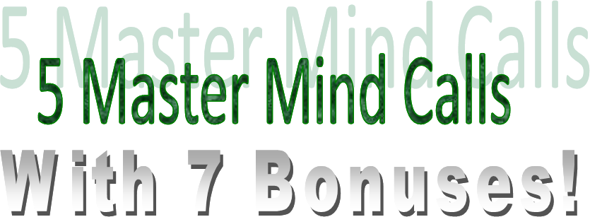 5 master mind calls with 7 bonuses