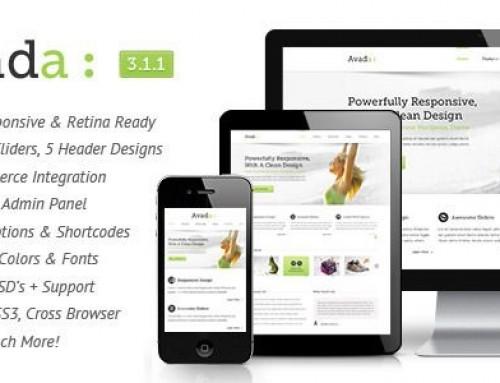 My Website Theme – Avada