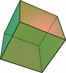 Hexahedron, earth