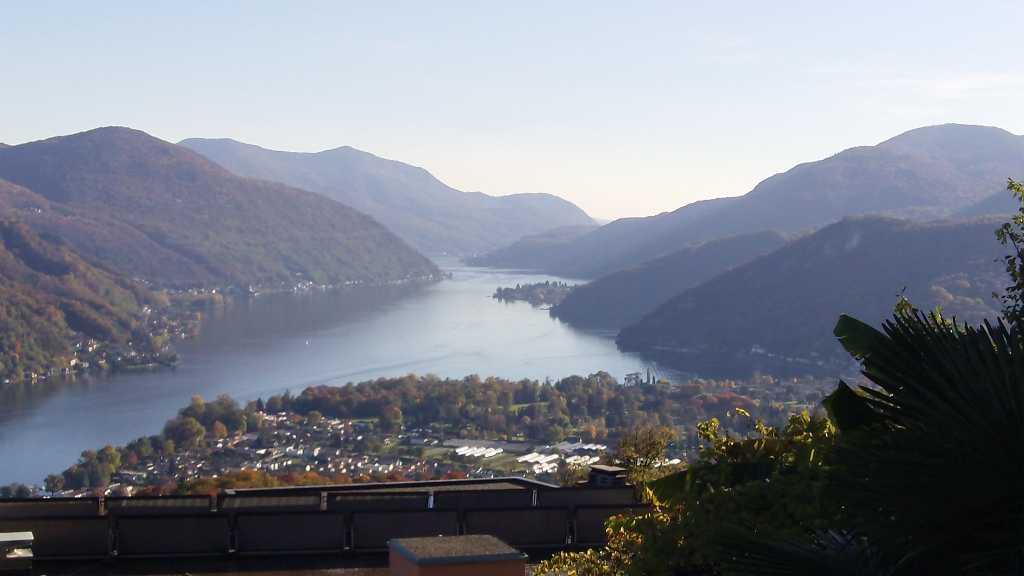 Lake Lugano, from Vernate, 10-30-15, 1