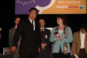 Robert Kiyosaki and Cha-zay