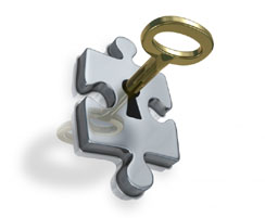 key-in-puzzle
