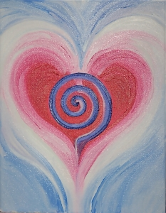 love with swirl
