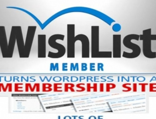Membership Site – Wishlist